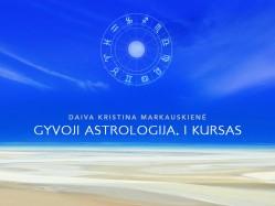 Gyvoji astrologija I kursas