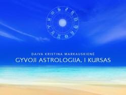 Daiva K. Markauskienė Gyvoji astrologija I kursas