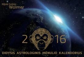 2016 DIDYSIS ASTROLOGINIS MĖNULIO KALENDORIUS