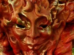 Budistinių dievybių kaukių gaminimo užsiėmimai