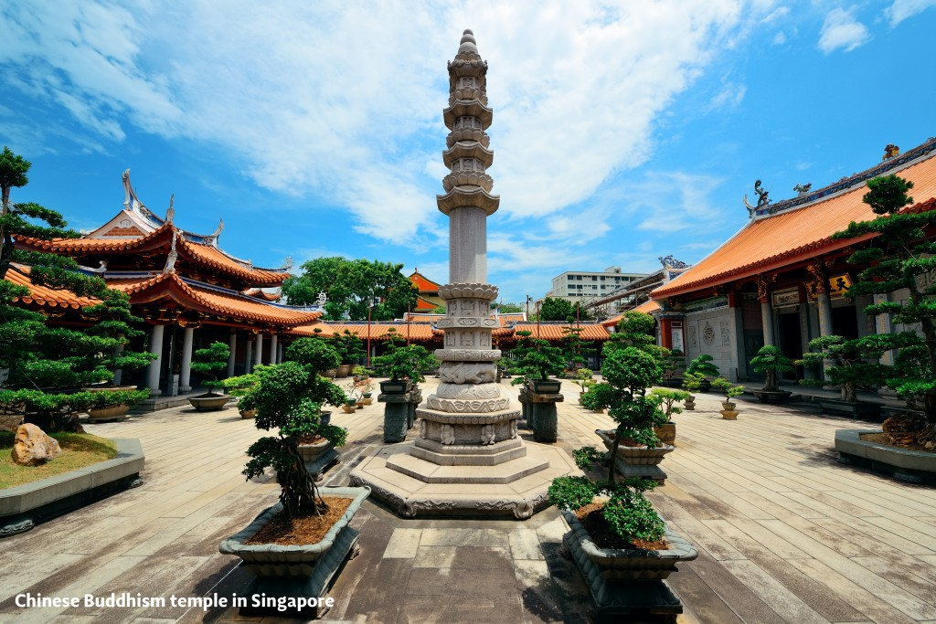 Singapore Chinese temple
