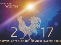 2017 Didysis astrologinis Mėnulio kalendorius