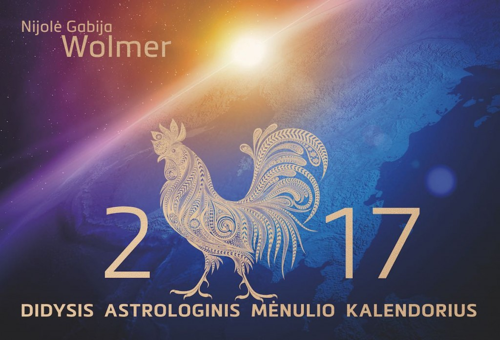 N.Gabija Wolmer. 2017 Didysis astrologinis Mėnulio kalendorius