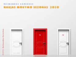 RAIMUNDAS KARECKAS. NAUJASIS MOKYMO SEZONAS 2020. REGISTRACIJA TEL.: 8 610 44008