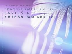 TRANSFORMUOJANČIO, PAVIRŠINIO (negilaus) KVĖPAVIMO SESIJA. Registracija TEL.: 8 610 44008