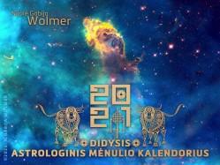 N.Gabija Wolmer. 2021 Didysis astrologinis Mėnulio kalendorius