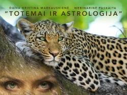 """Webinarinė paskaita """"Totemai ir astrologija"""""""