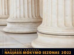 RAIMUNDAS KARECKAS. NAUJASIS MOKYMO SEZONAS 2022. REGISTRACIJA TEL.: 8 610 44008
