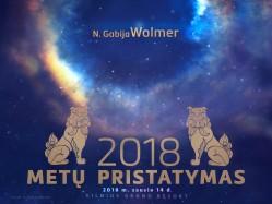 2018 METŲ PRISTATYMAS. Registracija te.: 8 610 44008