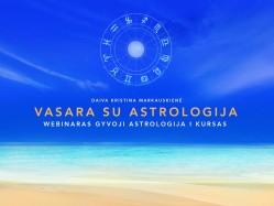 GYVOJI ASTROLOGIJA I kursas. Vasara su astrologija