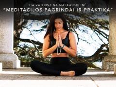 Meditacijos pagrindai ir praktika